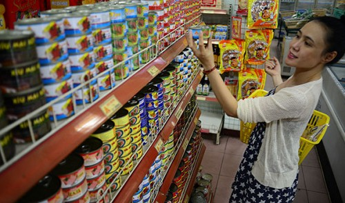 Canned food sees strong growth in Vietnam market.