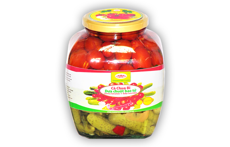 Assorted pickled in jar 1500ml