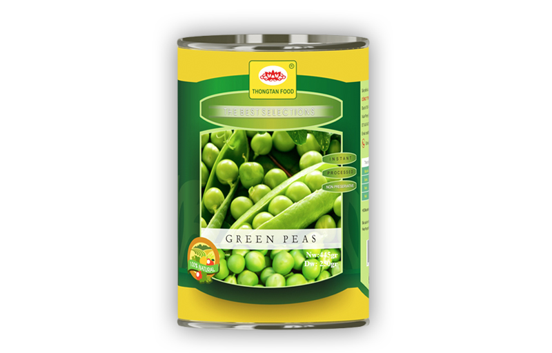 Green peas in can 15 Oz