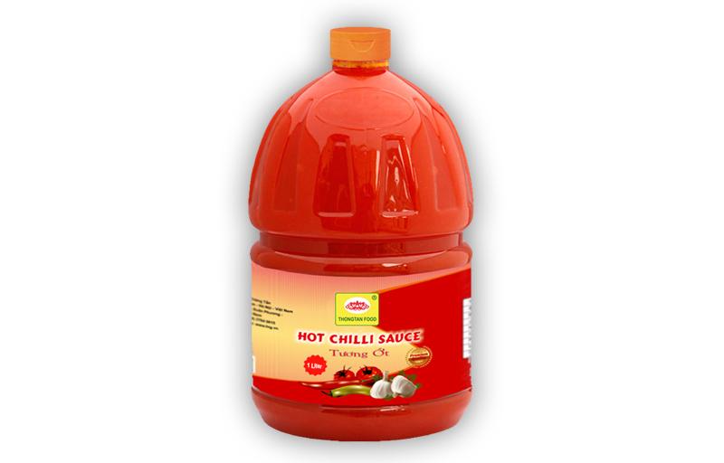 Chilli sauce in pet plastic 2 lit