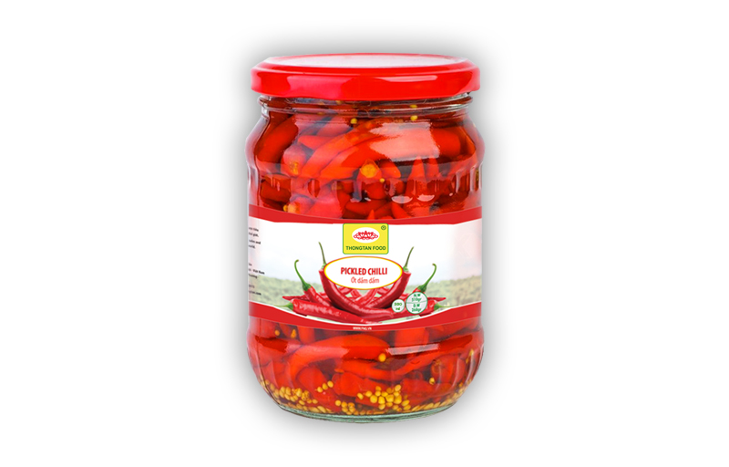 Pickled hot chilli in jar (380ml; 540ml; 720ml)