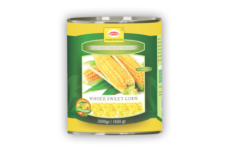Sweet corn in can A10-3Kg