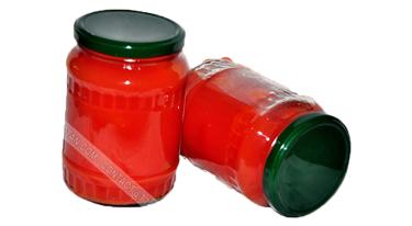 Cà chua nước sốt