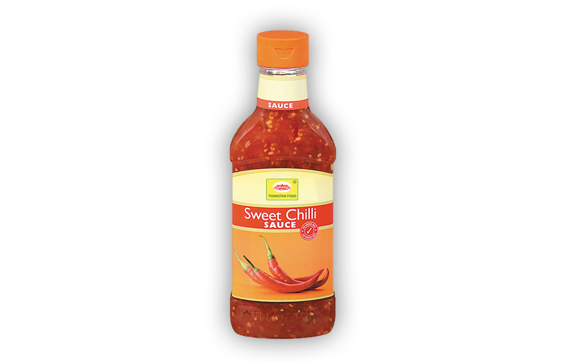 Sweet chilli sauce in jar glass (200ml, 250ml, 500ml)